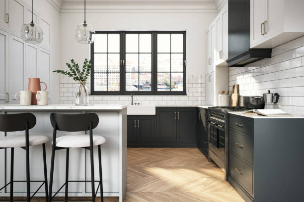 countertops and floors