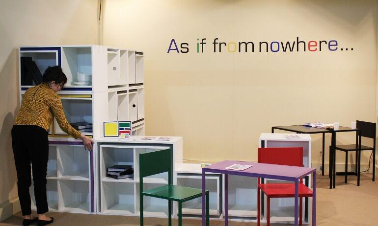 Multifunctional furniture - As if From Nowhere